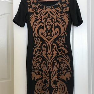 Ronni Nicole - Bold Print Winter Dress